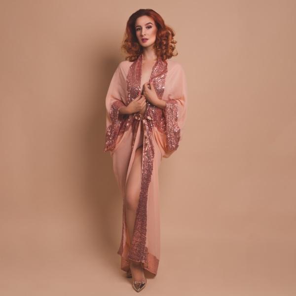 kimono peniuar