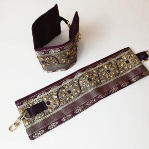 Eleganckie kajdanki w orientalnym stylu